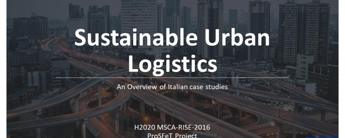 Sustainable Urban Logistics intro