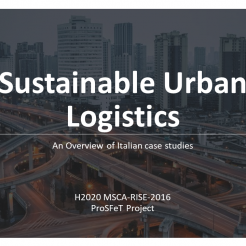 Sustainable Urban Logistics intro