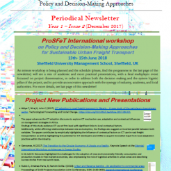 ProSFeT Newsletter Year 1 Issue 2